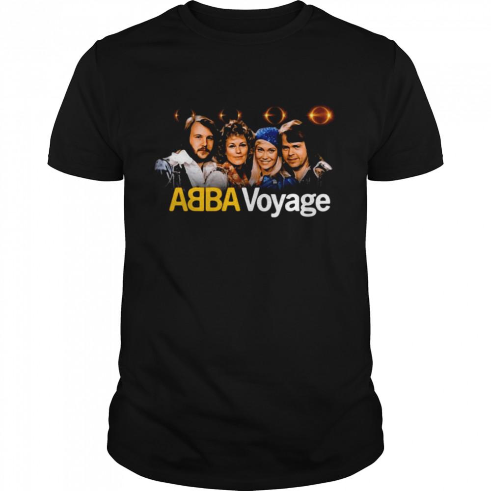 ABBA Voyage Abba 2021 Album Music T-shirt