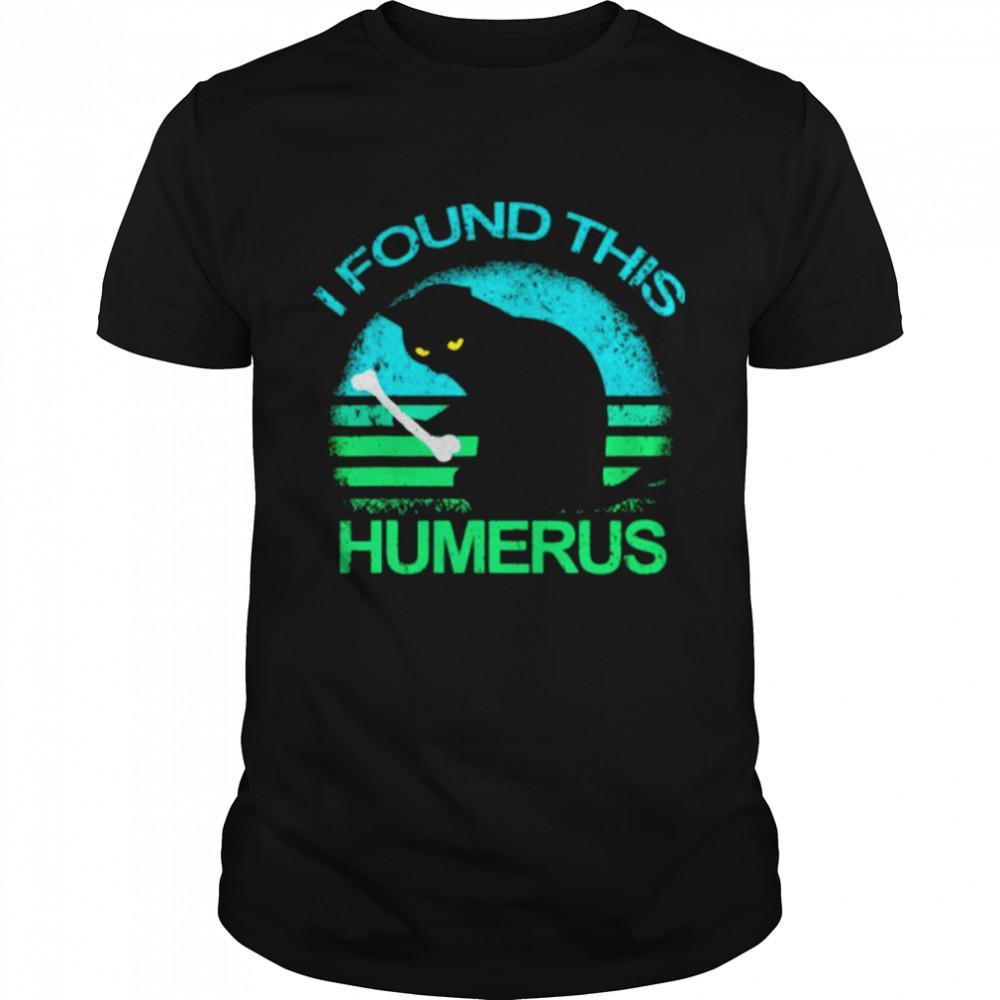 Black Cat I found this humerus vintage shirt