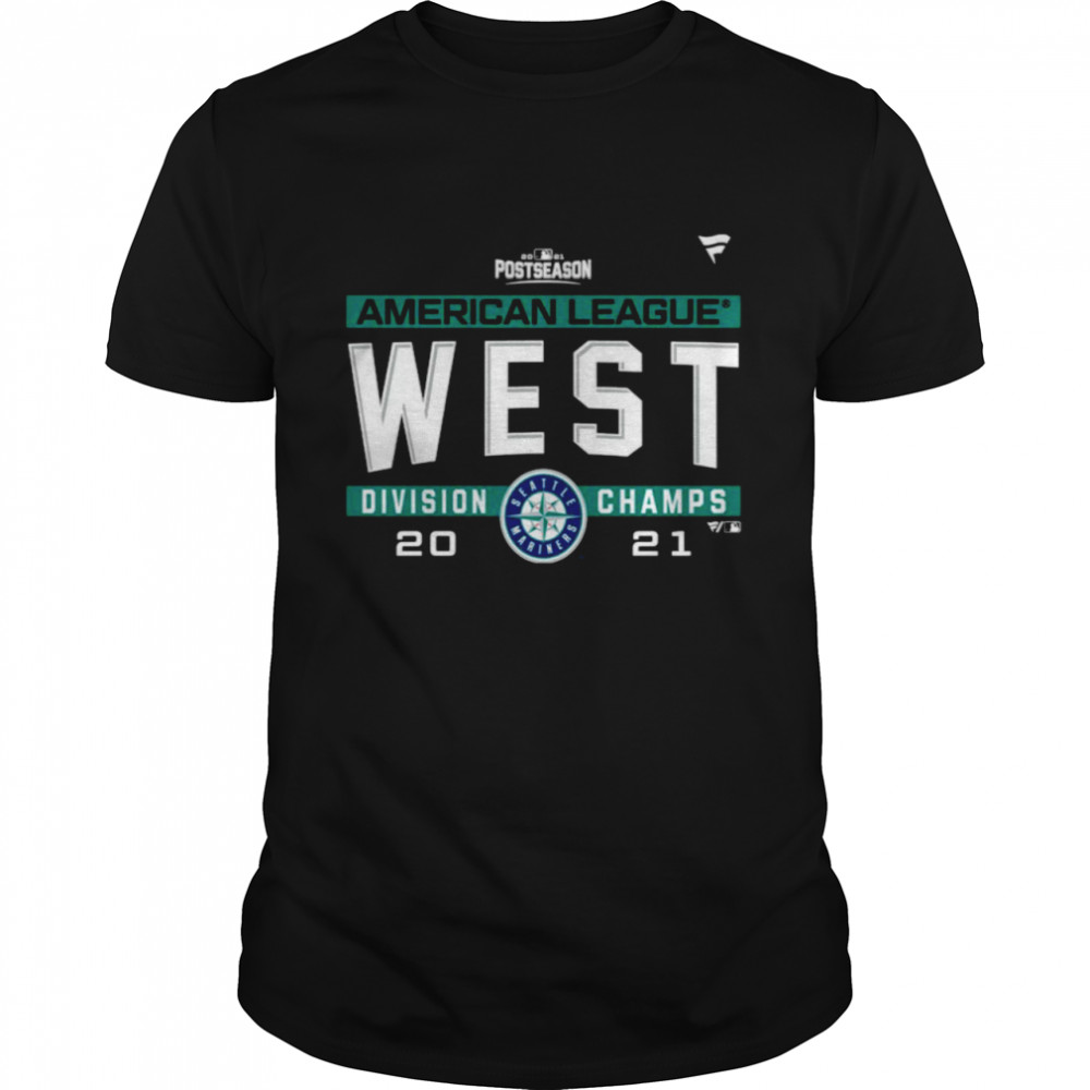 Seattle Mariners American League AL West Division Champions 2021 sport shirt
