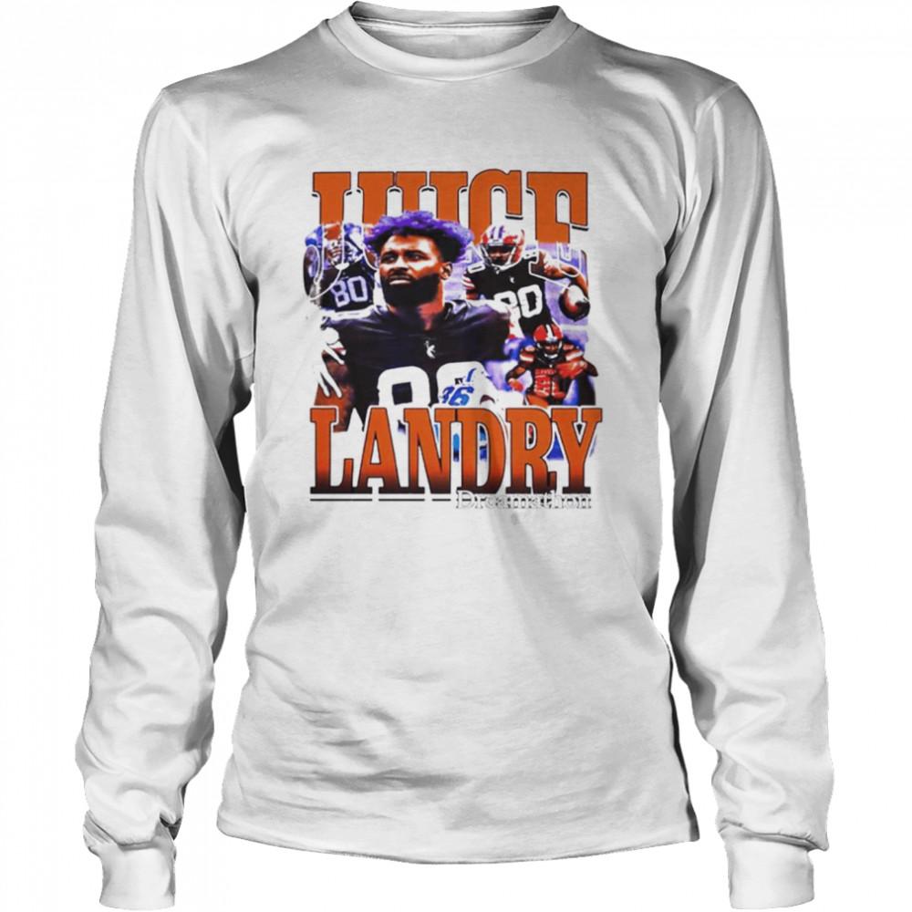 Cleveland Browns Odell Beckham Jr Honors Jarvis Landry shirt Long Sleeved T-shirt