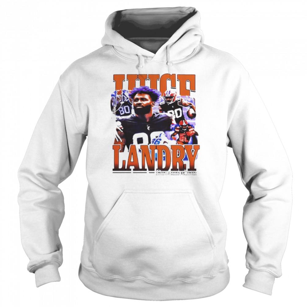 Cleveland Browns Odell Beckham Jr Honors Jarvis Landry shirt Unisex Hoodie