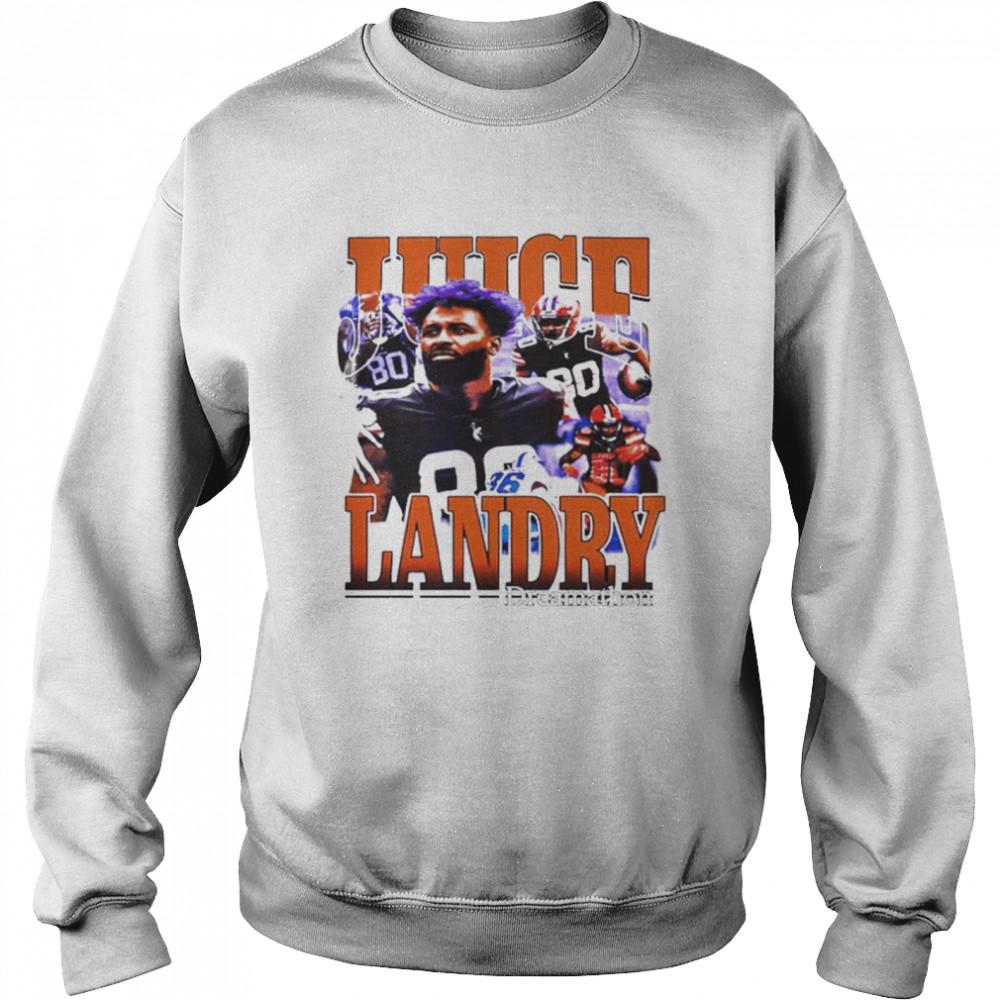 Cleveland Browns Odell Beckham Jr Honors Jarvis Landry shirt Unisex Sweatshirt