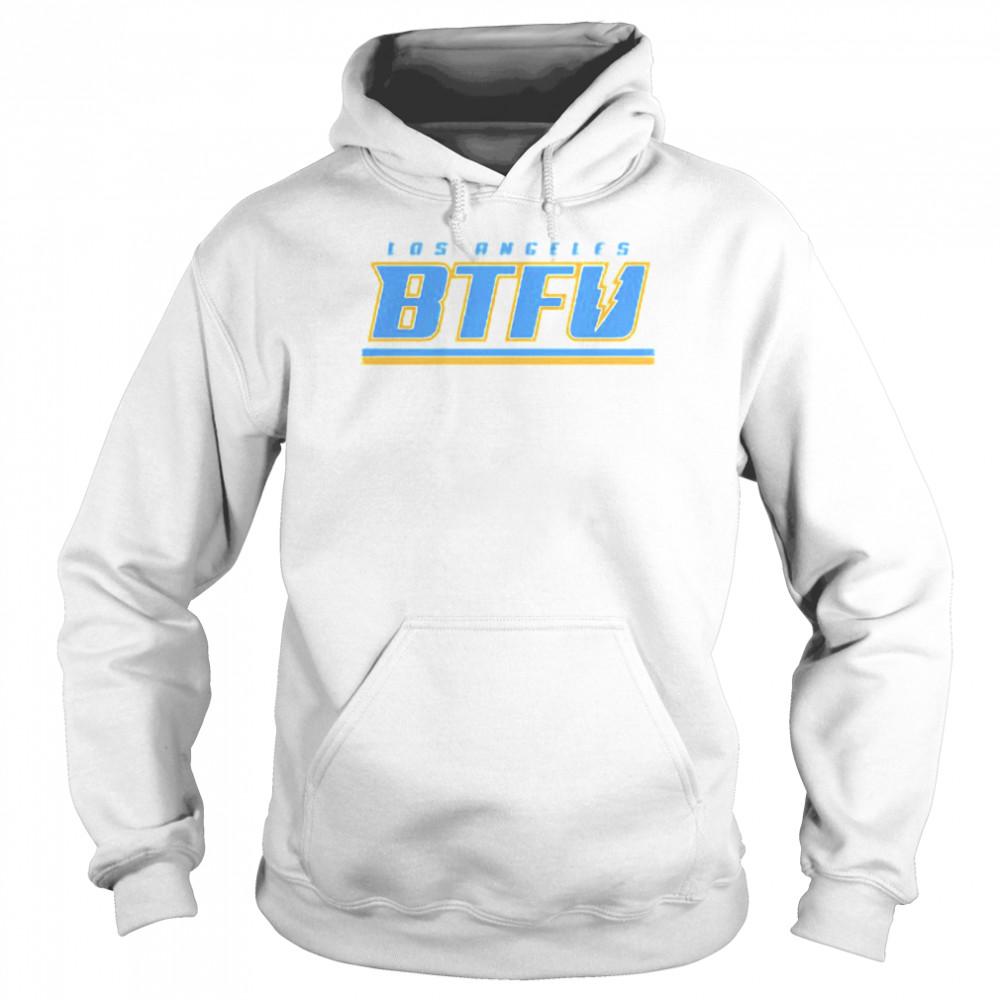 Los Angeles football BTFU shirt Unisex Hoodie