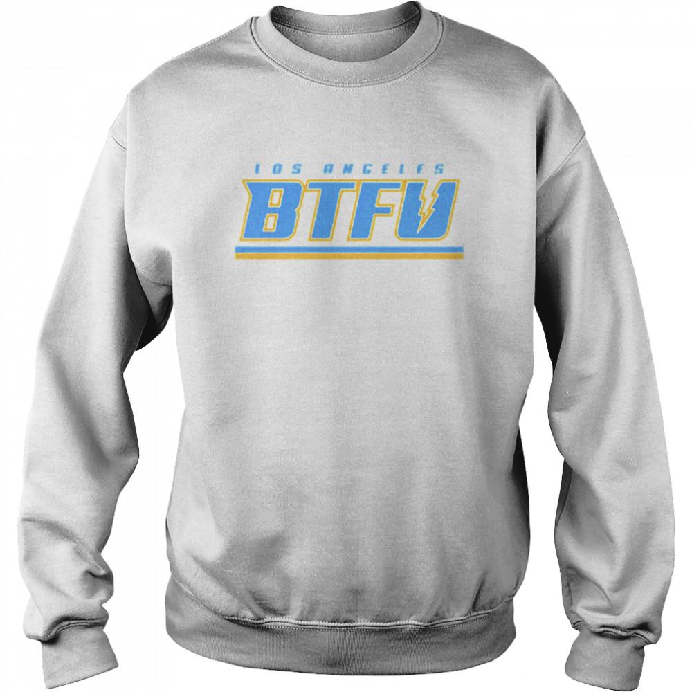 Los Angeles football BTFU shirt Unisex Sweatshirt