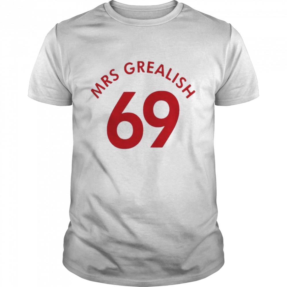 Mrs Grealish 69 for England shirt