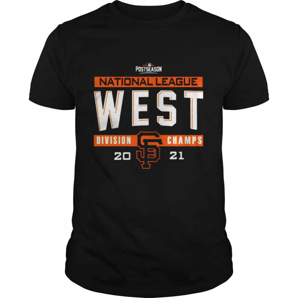 San Francisco Giants 2021 NL West Division Champions Locker Room shirt