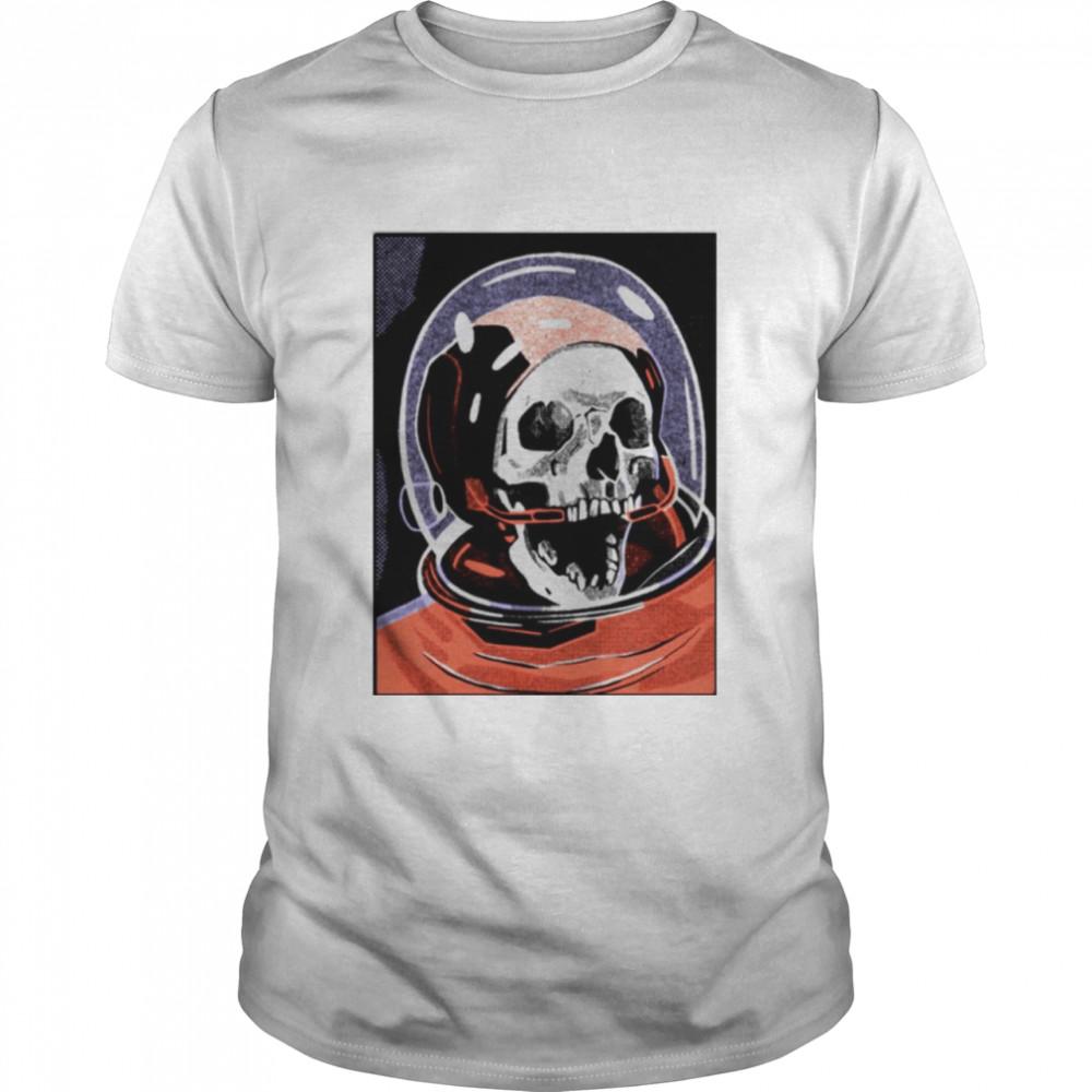 Faculty of Horror Halloween Skull shirt