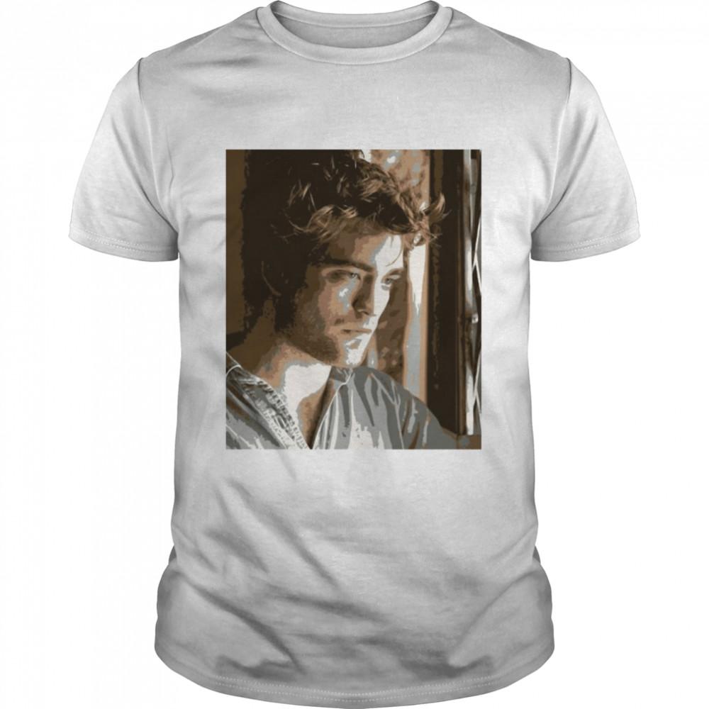 Robert Pattinson Graphic English Actor T-shirt