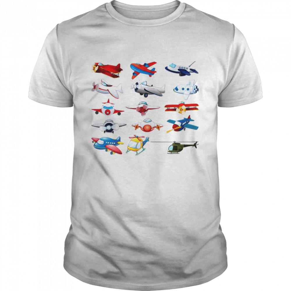 All Of Plane Shirt