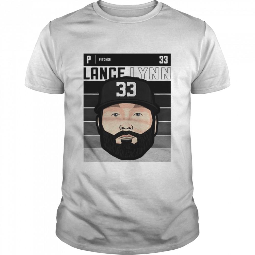 Chicago baseball number 33 Lance Lynn shirt Classic Men's T-shirt