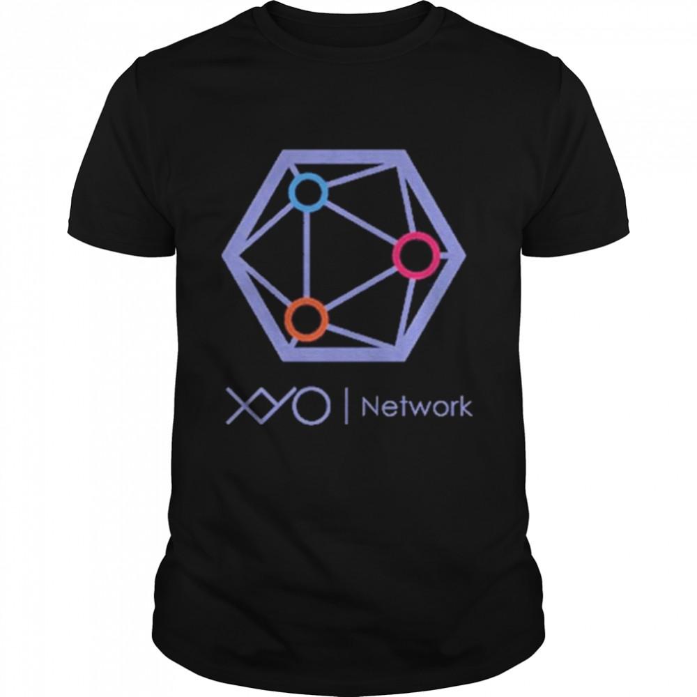 xyo network logo shirt