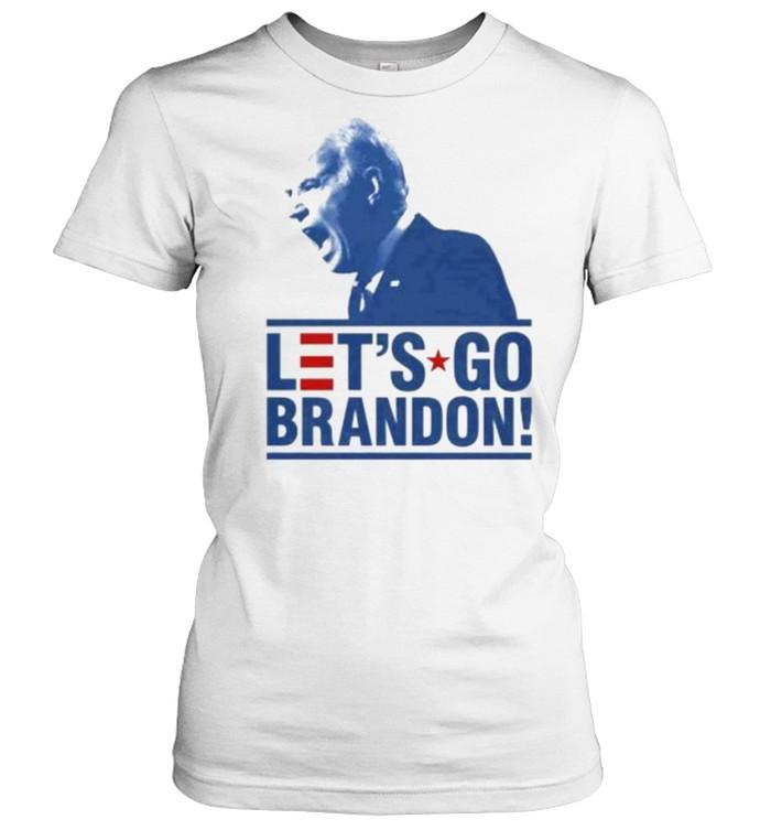 Let's Go Brandon Funny Meme 2021 T- Classic Women's T-shirt