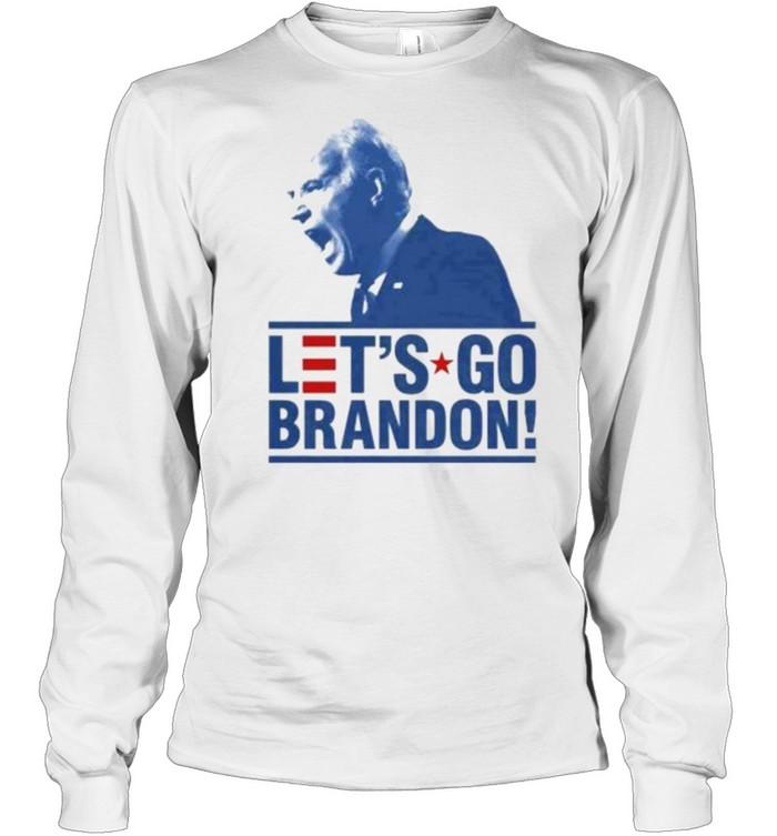 Let's Go Brandon Funny Meme 2021 T- Long Sleeved T-shirt