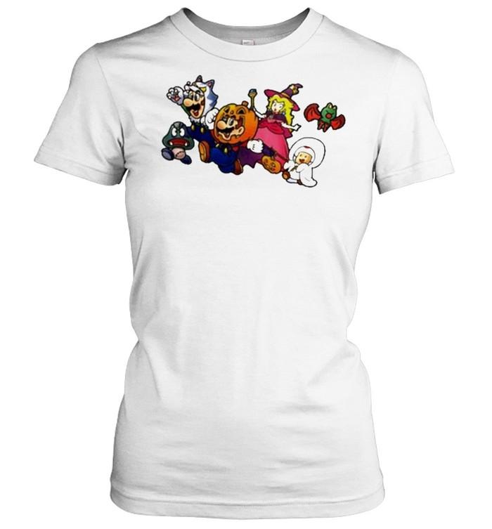 New Super Mario Nintendo Ny Exclusive Halloween  Classic Women's T-shirt