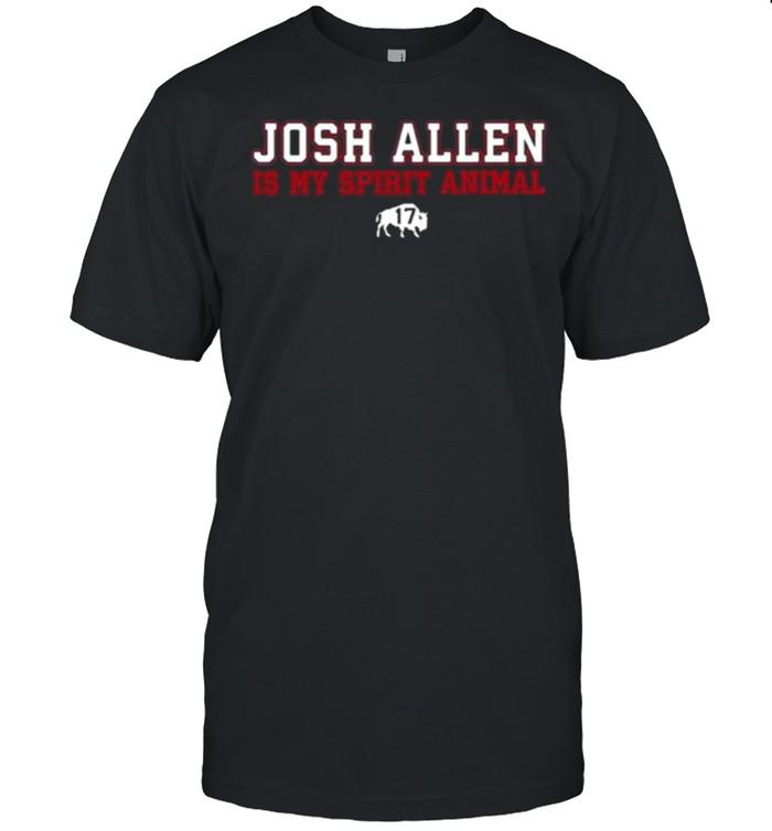 Osh Allen Is My Spirit Animal Buffalo Bills Shirt