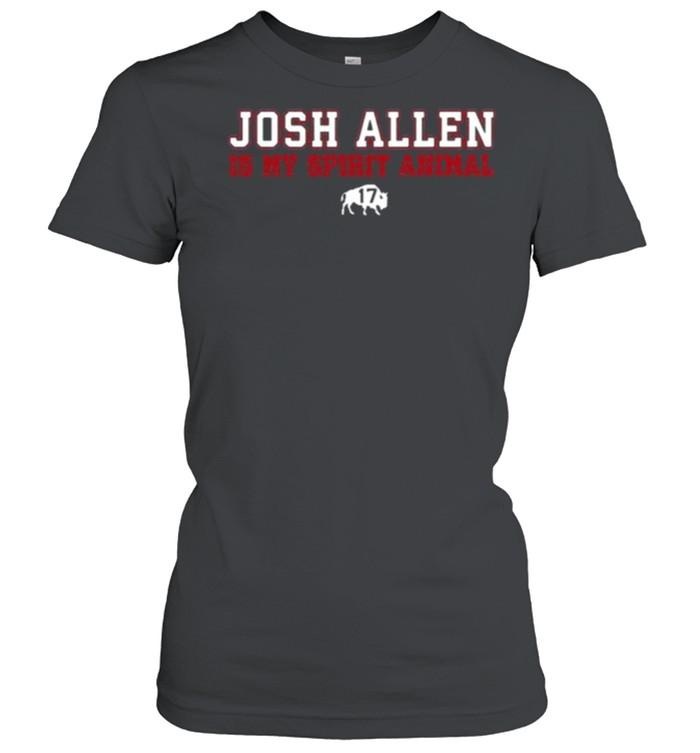 Osh Allen Is My Spirit Animal Buffalo Bills  Classic Women's T-shirt