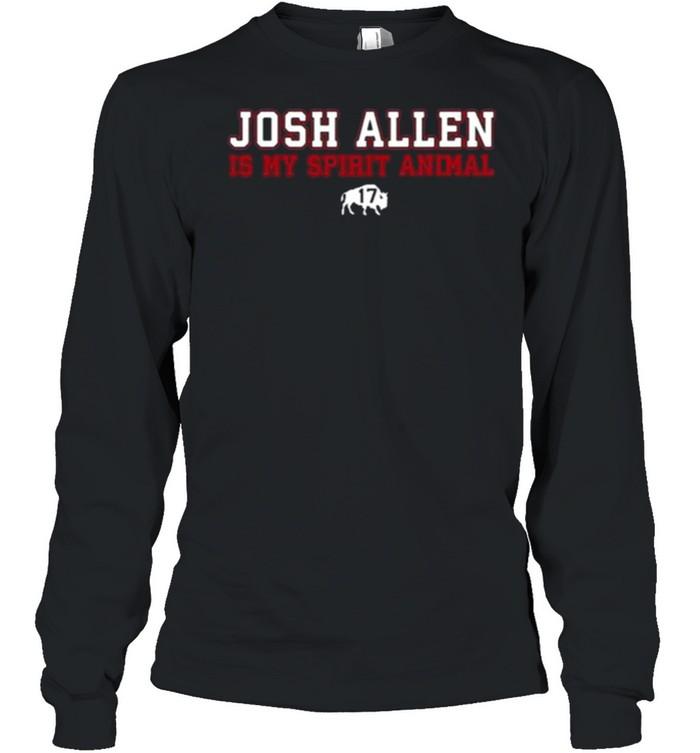 Osh Allen Is My Spirit Animal Buffalo Bills  Long Sleeved T-shirt