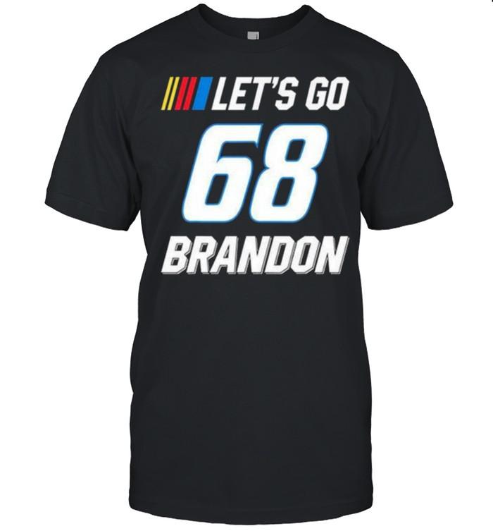 Let's Go Brandon 68 Joe Biden Chant Impeach Biden Costume T-Shirt