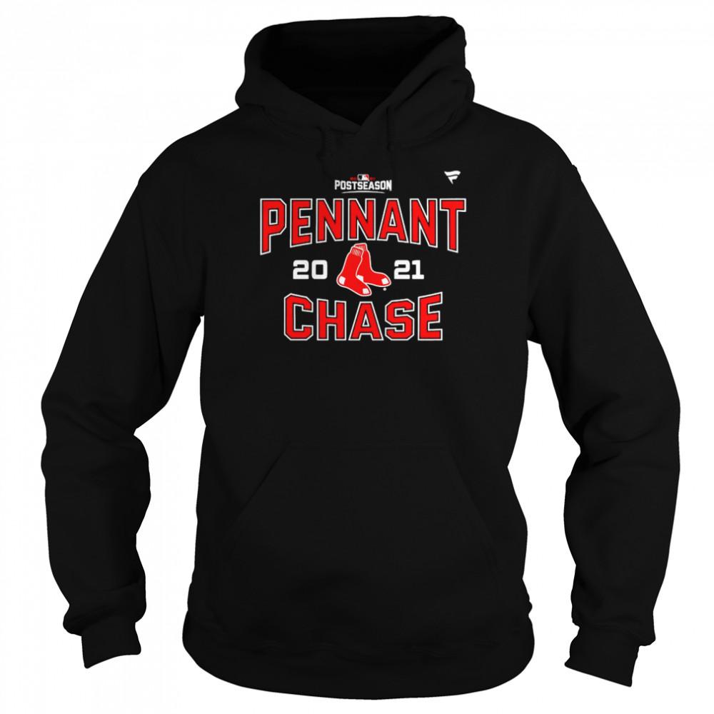 Original boston Red Sox 2021 postseason pennant chase shirt Unisex Hoodie