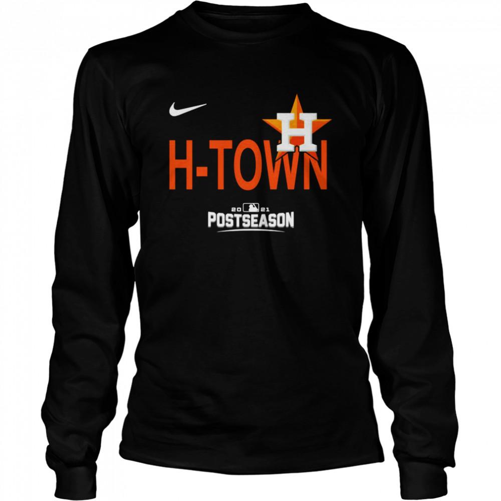 Postseason Funny Houston Astros HTown 2021  Long Sleeved T-shirt