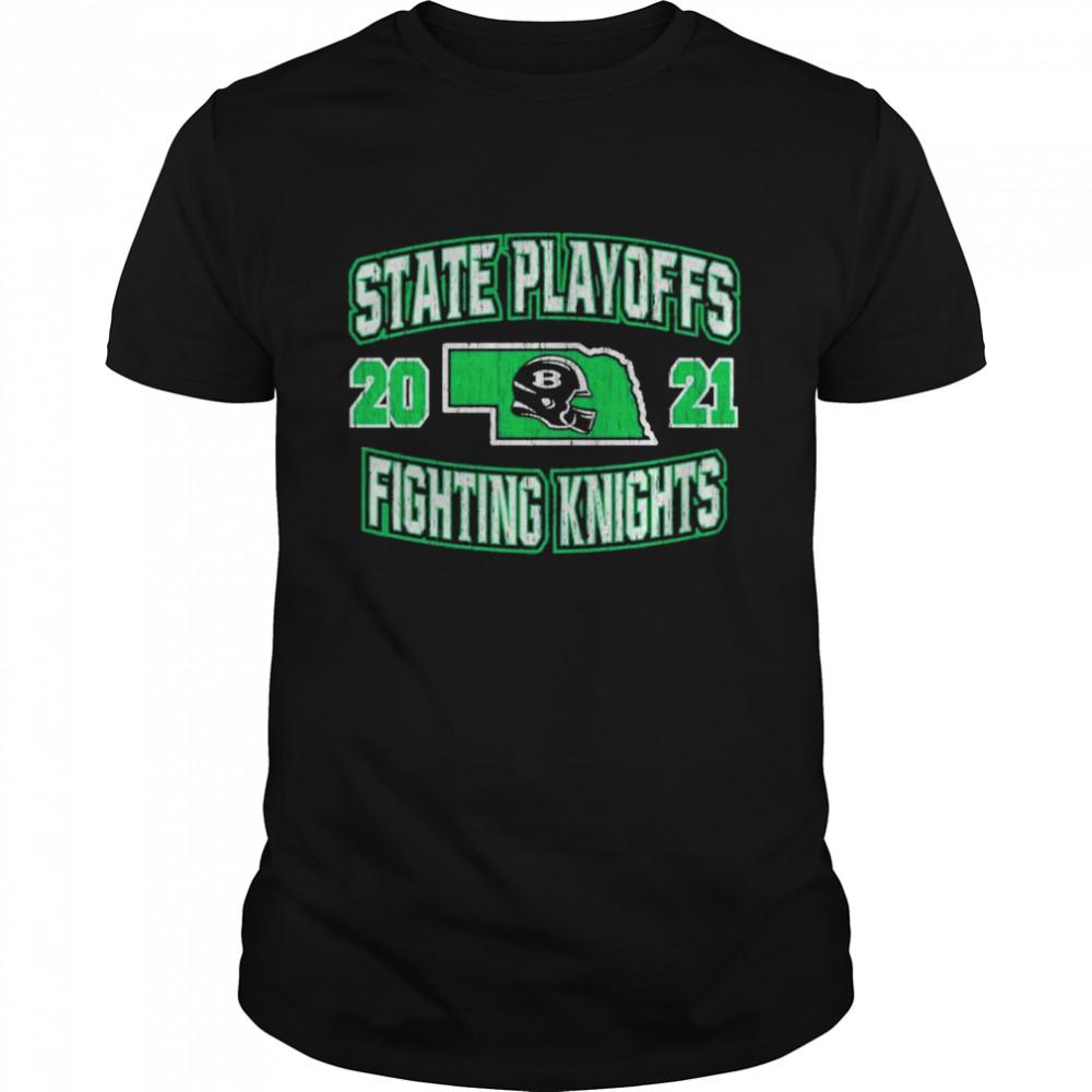 State playoffs 2021 fighting knights shirt