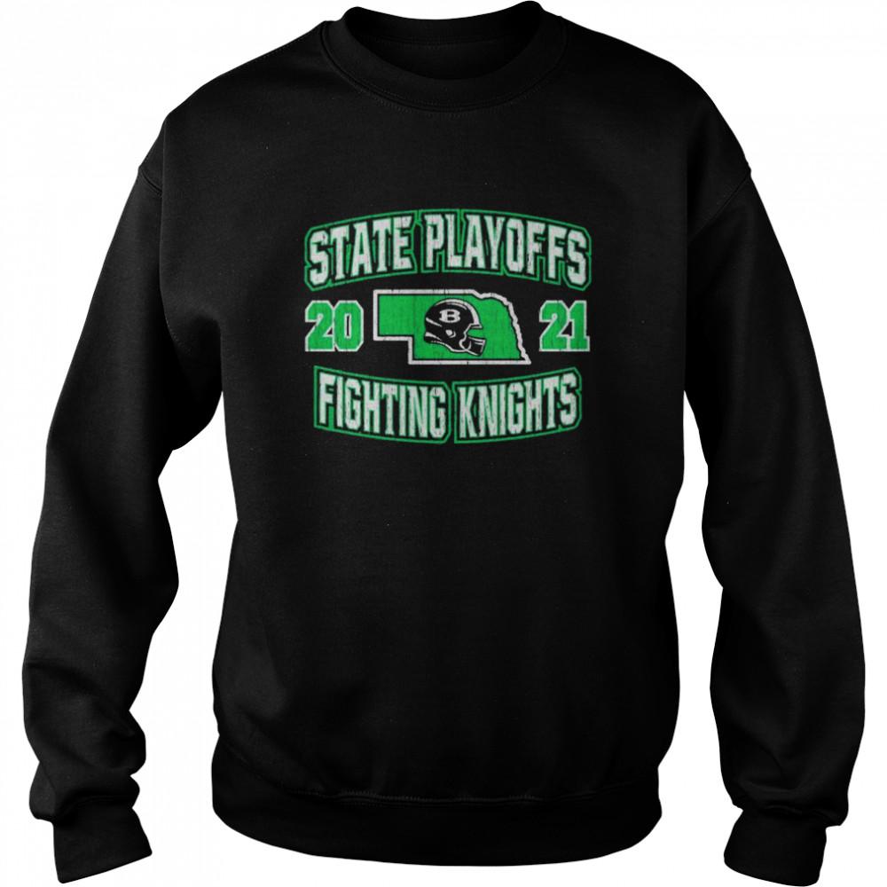 State playoffs 2021 fighting knights shirt Unisex Sweatshirt