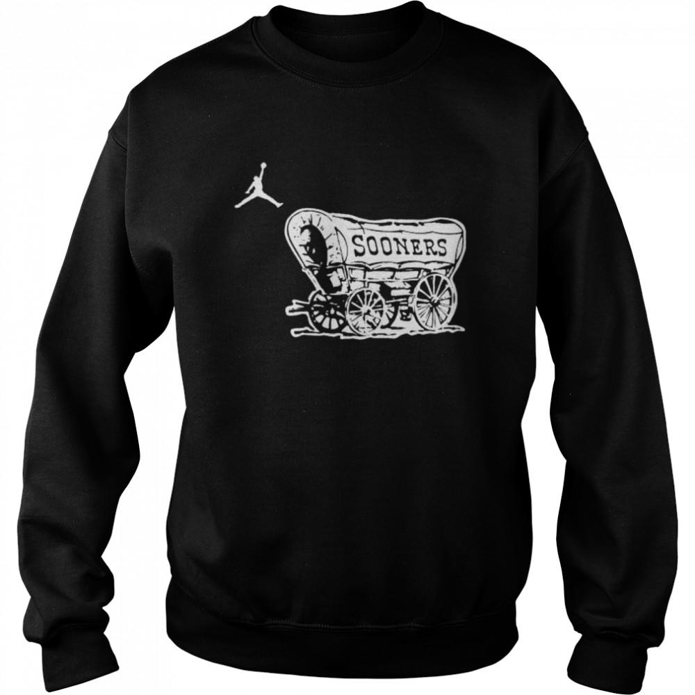 Top oklahoma Sooners football logo jordan shirt Unisex Sweatshirt