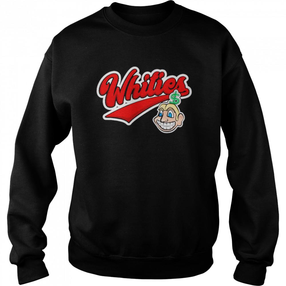 Whities shirt Unisex Sweatshirt