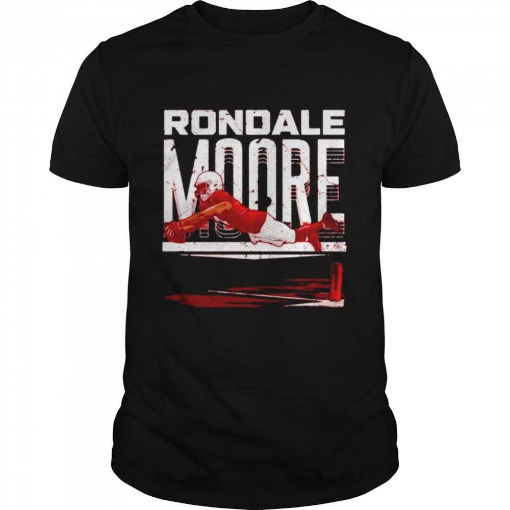 arizona Cardinals Rondale Moore endzone dive shirt