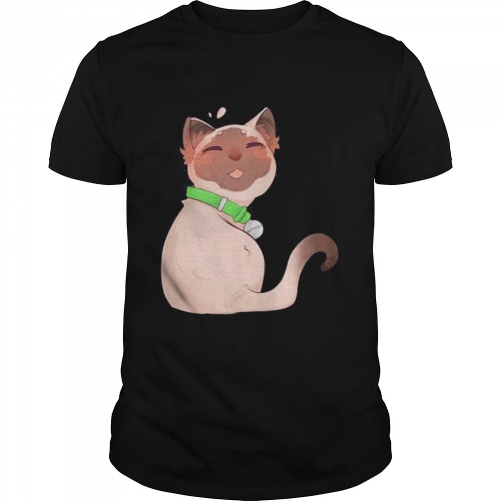 Antfrost Merch Cat shirt