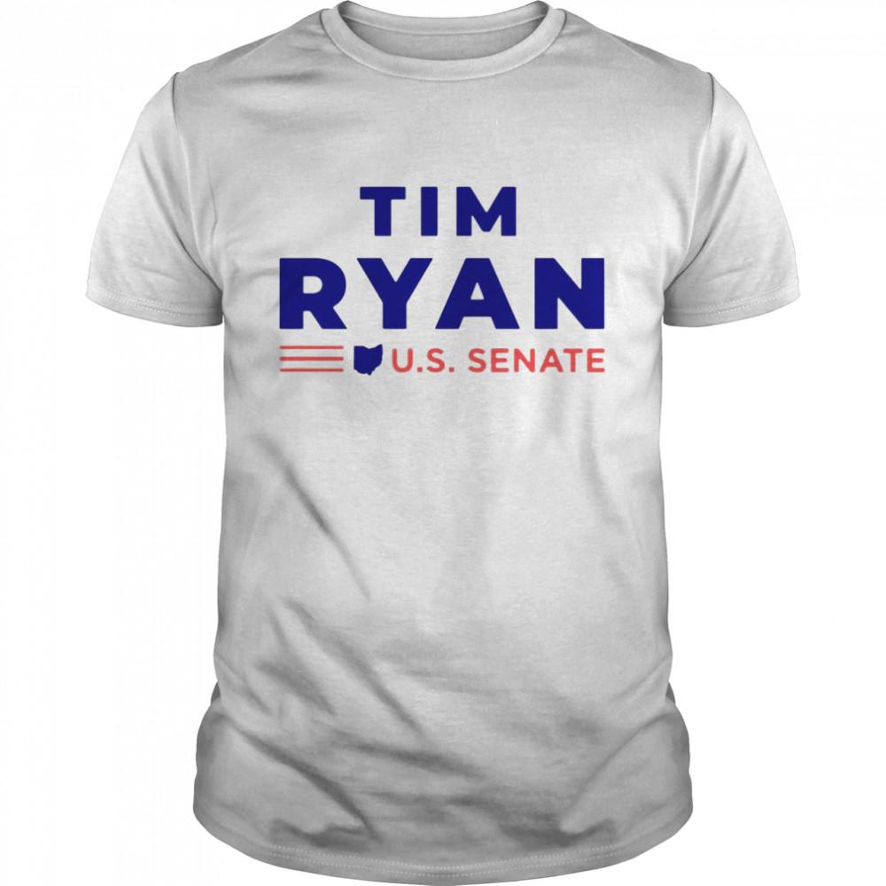 Tim Ryan For U.S. Senate Shirt
