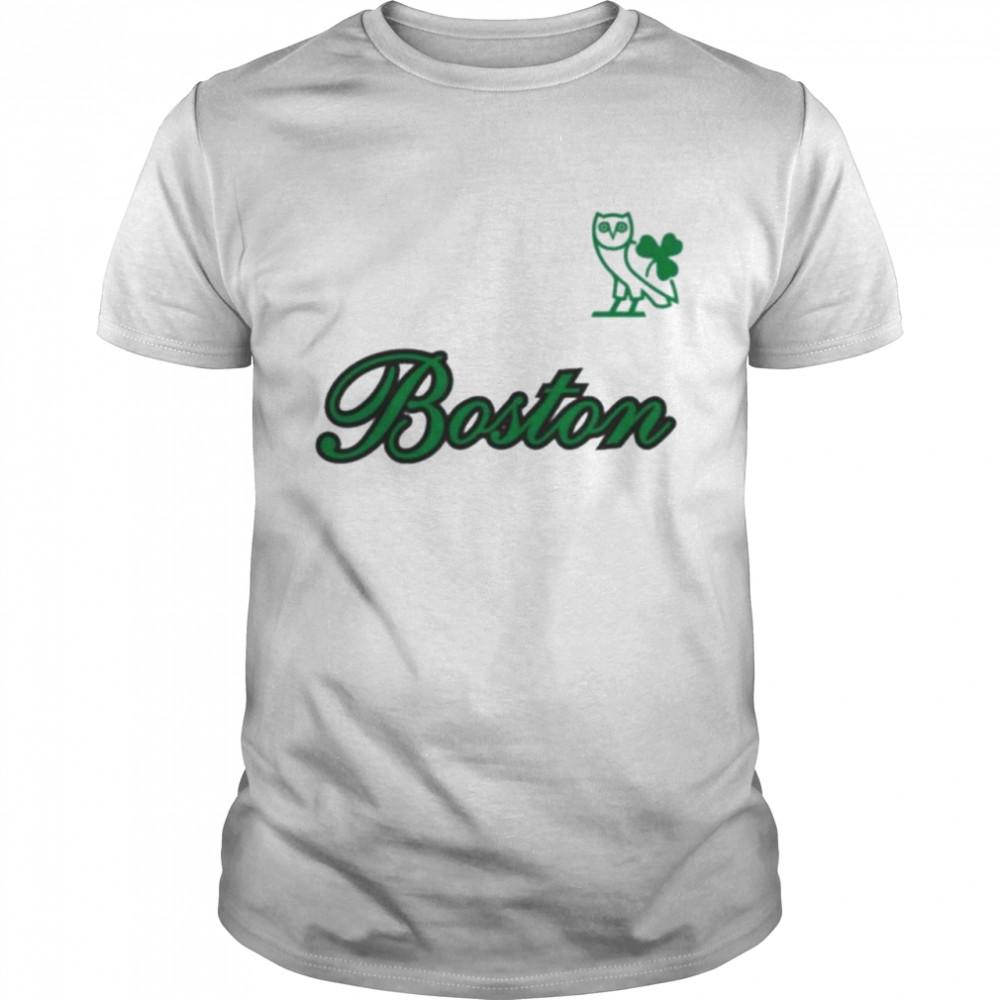 Boston Celtics Ovo X NBA Celtics Shirt