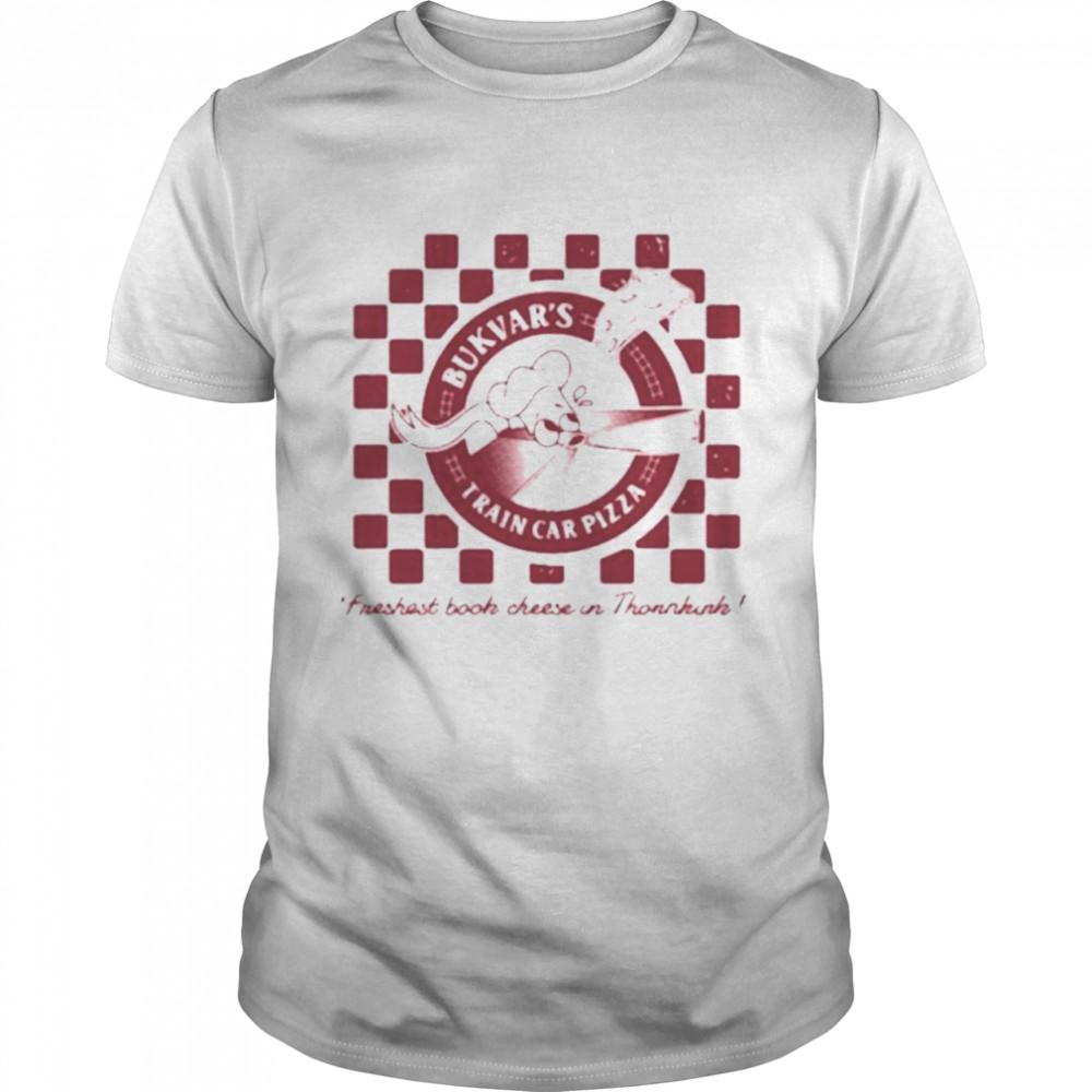 Naddpod boockvar pizza shirt
