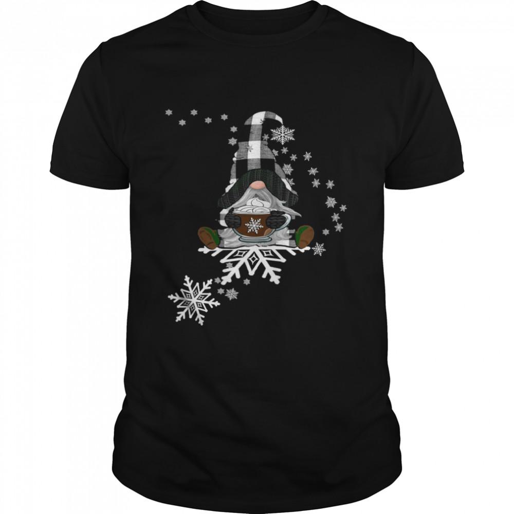 Wintertime Snowflakes Gnome Shirt