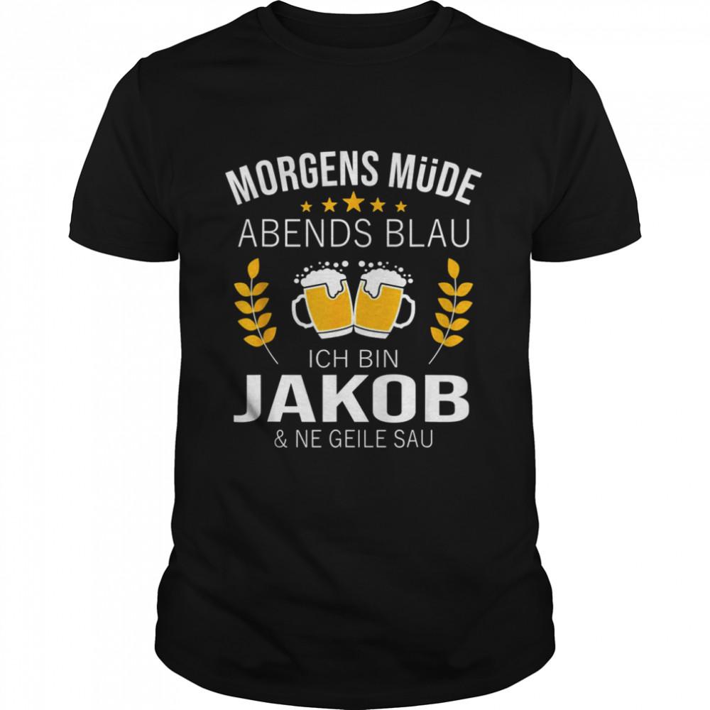 Men's Jakob Name Idea Birthday Slogan  Classic Men's T-shirt